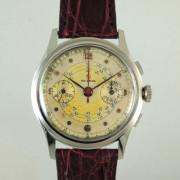 HELBROS2つ目クロノグラフ腕時計