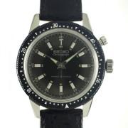 SEIKO CROWN 手巻クロノグラフ腕時計
