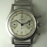 WITTNAUER手巻クロノグラフ腕時計