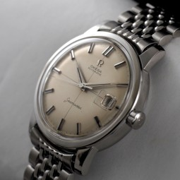 OMEGAビッグシーマスター自動巻腕時計