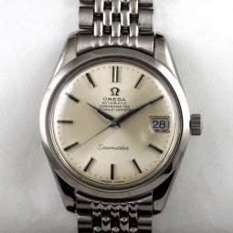 OMEGAシーマスタークロノグラフ自動巻腕時計