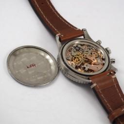 BREITLING 手巻クロノグラフ腕時計