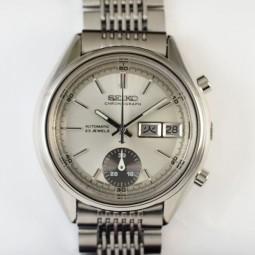SEIKO 自動巻クロノグラフ腕時計