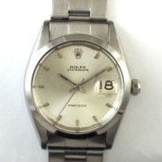 ROLEX OYSTERDATE 手巻腕時計