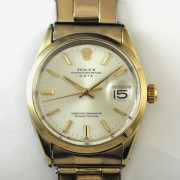 ROLEX OYSTER PERPETUAL DATE 自動巻腕時計     re00544