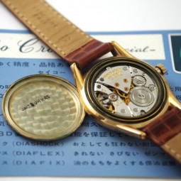 SEIKO CRONOS 手巻腕時計