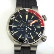 ORISクロノグラフ自動巻腕時計