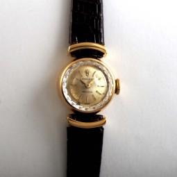 ROLEXレディス手巻腕時計