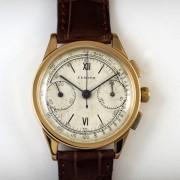 ZENITH2つ目クロノグラフ手巻腕時計    zet03814