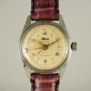 CADOLAポインターデート手巻腕時計
