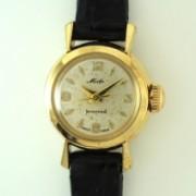 MIDO婦人用自動巻腕時計