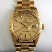ROLEX OYSTER PERPETUAL DAY DATE自動巻腕時計