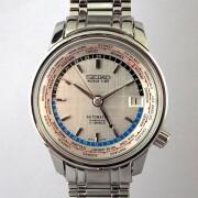 SEIKO WORLD TIME 自動巻腕時計